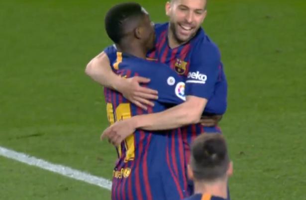 برشلونة يعبر ريال سوسيداد بثنائية فاترة