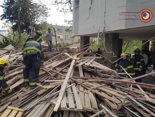 مصرع عامل (28 عامًا) من عرابة جراء انهيار سقالات في ورشة بناء في حيفا