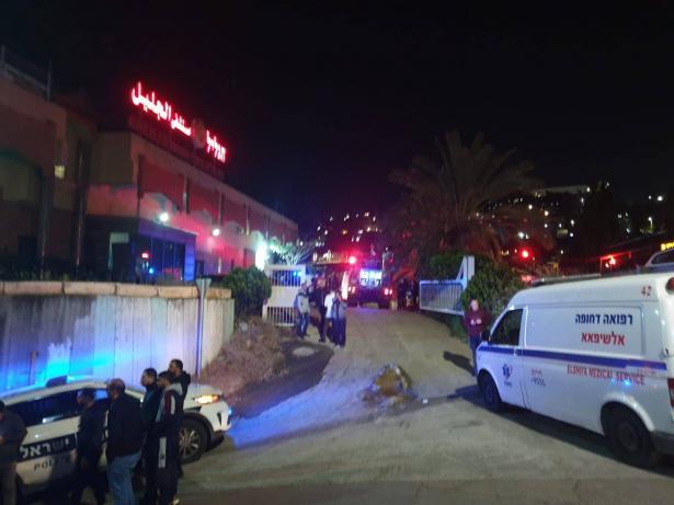 وفاة مواطن من الناصرة (49 عامًا) متأثرا بجراحه جراء حريق مستشفى الجليل