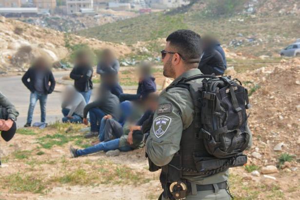 ضبط 42 فلسطينيًا تسللوا الى البلاد بصورة غير شرعية