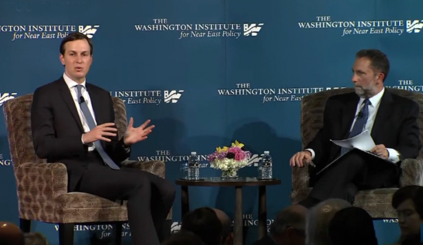 كوشنر يتحدث في ندوة بواشنطن عن صفقة القرن.. هذا ما قاله