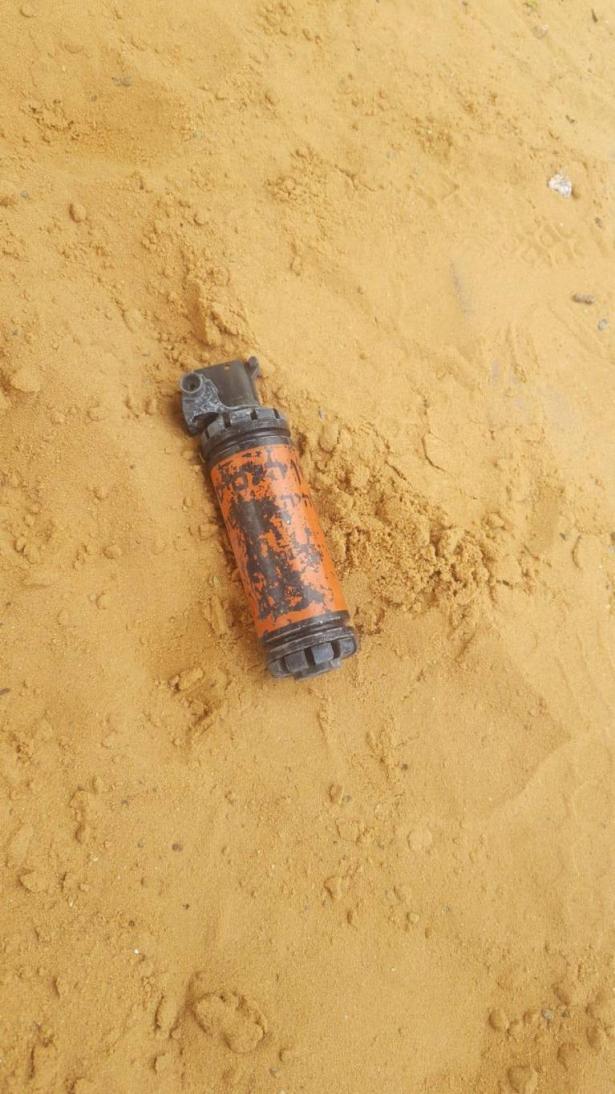 مريع: العثور على قنبلة هلع داخل صندوق رمل في روضة اطفال في الخوالد