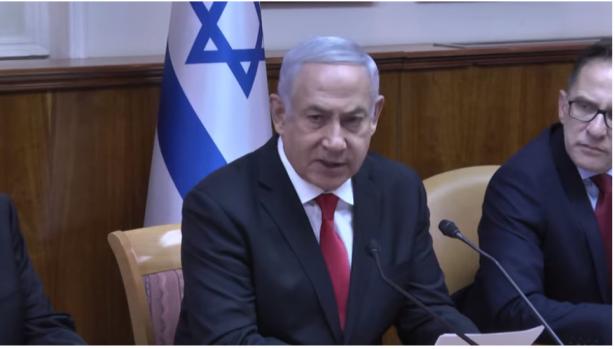 نتنياهو يصرح: اعطيت امرًا للمدفعية وسلاح الجو بمواصلة قصف غزة