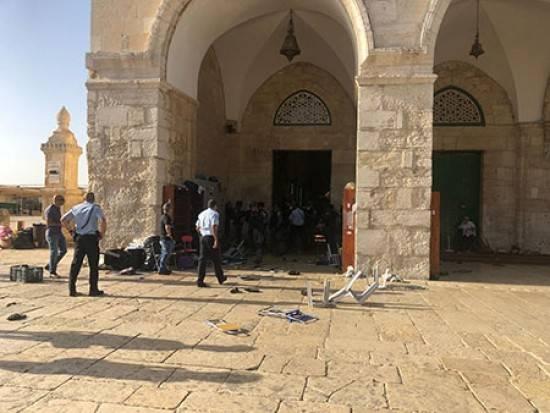 توتر في المسجد الأقصى المبارك بعد اقتحامه من قبل مستوطنين
