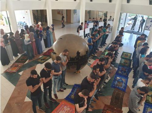بعد سلسلة خطوات نضالية: قرار بافتتاح مصلى دائم وثابت في جامعة تل أبيب
