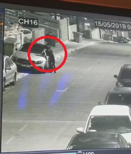 شاهد: مجهول يضرم النيران بسيارة المرشح السابق في كفرمندا علي زيدان