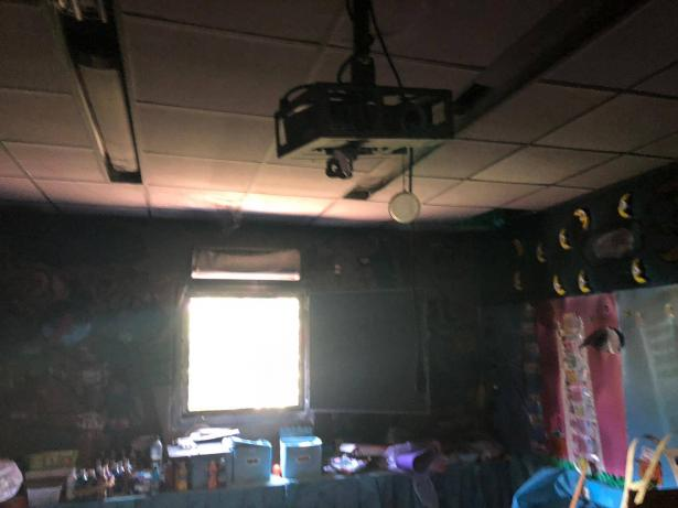 تذمر في سولم بسبب أعطاب بشبكة كهرباء المدرسة الابتدائية  تسببت بحريق في صف