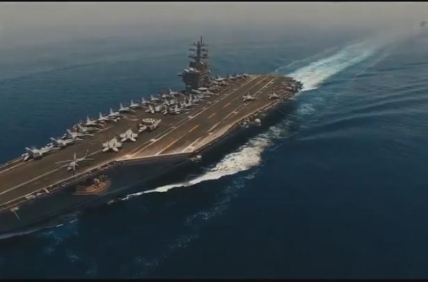 ما وراء إرسال أمريكا لحاملة طائرات إلى الخليج، هل هي  خطوة للحرب ضد إيران، الون بنكاس يتحدث للشمس