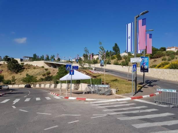 بالتزامن مع ذكرى نقل السفارة الامريكية الى القدس: امريكا تحذر رعاياها في اسرائيل