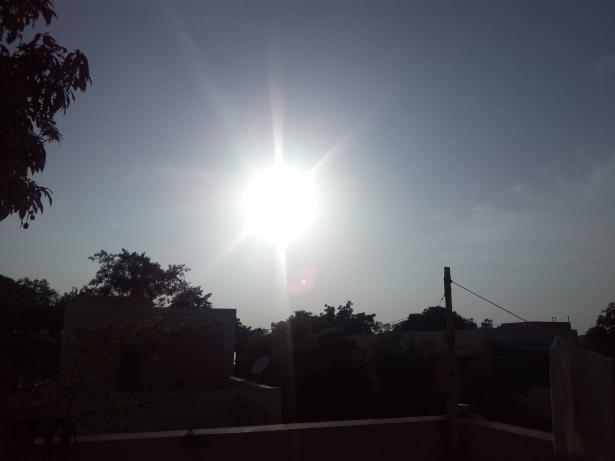 الحرارة اليوم اعلى من المعدل السنوي