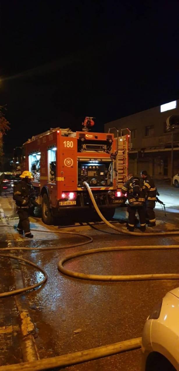 حورة: السيطرة على حريق شب في احد المطاعم
