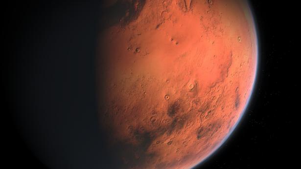 كشف سر عدم هطول الأمطار على المريخ