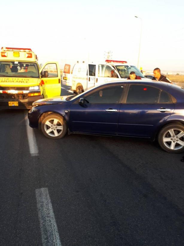 الطيبة: حادث طرق عند مفرق تنوفوت يسفر عن اصابات