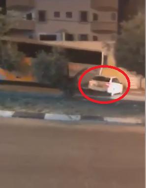 شاهد: حادث بين سيارة وحافلة في الطيبة