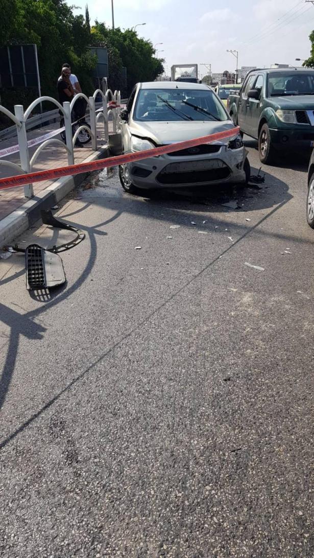 حادث طرق في قلنسوه يسفر عن اصابات متفاوتة