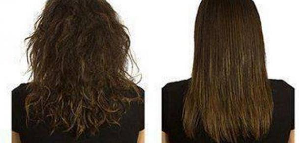 أضرار الكيراتين على الشعر