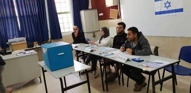 عدالة تطالب لجنة الانتخابات بمنع وضع كاميرات بأماكن الاقتراع بالبلدات العربية