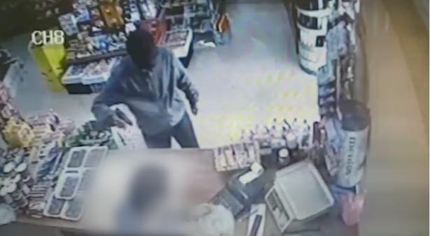زيمر: توثيق لسطو مسلح على حانوت وسرقة مبالغ مالية