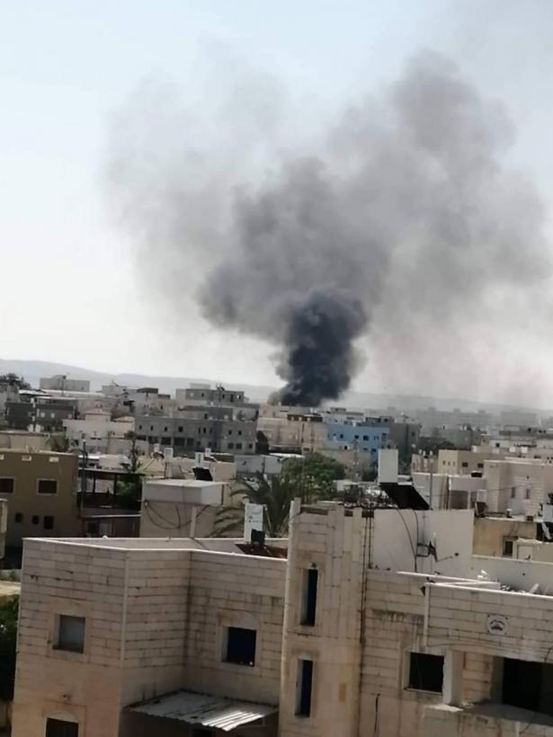 انفجار انابيب غاز في حارة 30 برهط