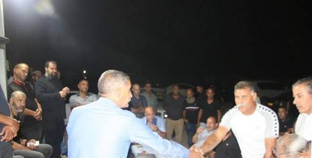 كفرقاسم تعرض للناس وجهها التسامحي الجميل بعقد الصلح بين عائلتيّ ابو نصار وعلي ابو جابر