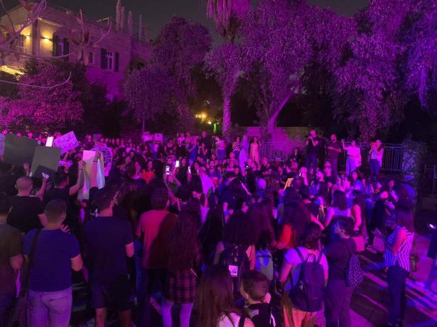 حيفا: مظاهرة حاشدة تنظمها نساء ضد القتل والعنف
