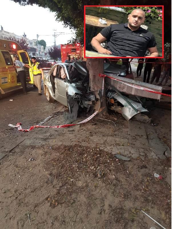 باقة الغربية تفجع بمصرع الشاب يوسف بيادسة (22 عامًا) جراء اصطدام سيارة بشجرة