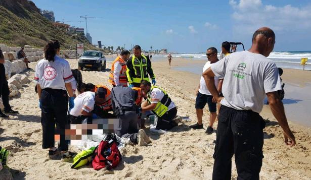 مصرع رجل غرقًا في أحد شواطئ نتانيا