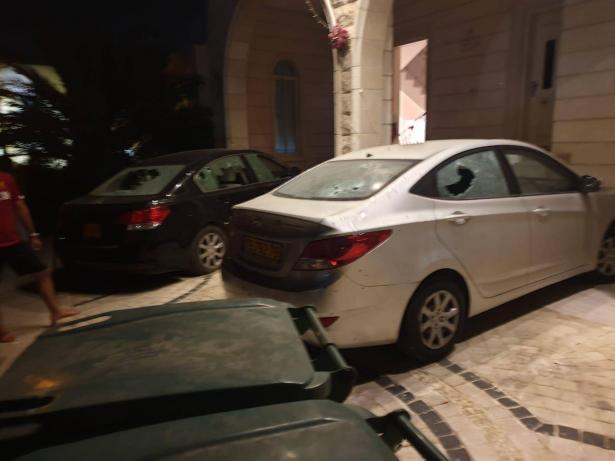 سخنين تشهد اطلاق نار الليلة تؤدي الى أضرار لعدد من السيارات