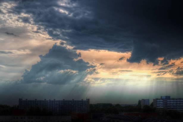 الطقس: غائم جزئي
