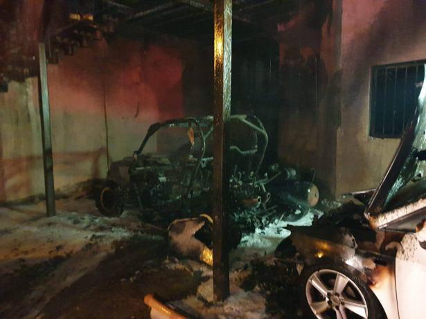 تحقيقات أولية تشير أن حريق المنزل في جولس متعمد