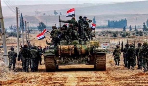 الجيش السوري يدخل مدينة الطبقة وعين عيسى وريف الرقة