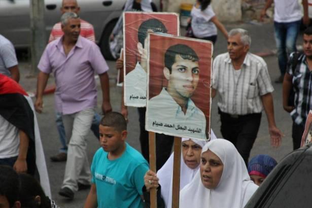 والد شهيد هبة القدس احمد صيام للشمس: