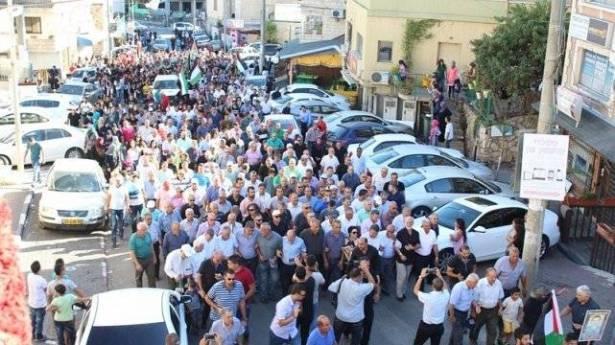 تظاهرة في الناصرة الثلاثاء مقابل مقر الشرطة تصدياً للجريمة والعنف في المجتمع العربي
