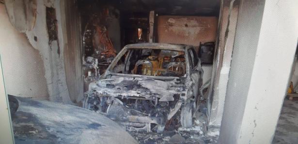 سلطة الإطفاء: اضرام نار متعمد بمركبتين في كفر ياسيف