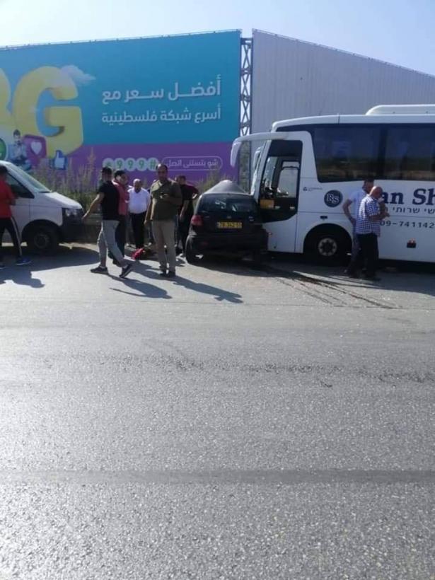 قلنسوة تفجع بمصرع الشابة ضحى سلامه بحادث مروع شارع نابلس طولكرم