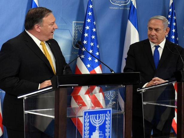 بومبيو: العلاقات الأمريكية الاسرائيلية الحالية أقوى من أي وقت مضى