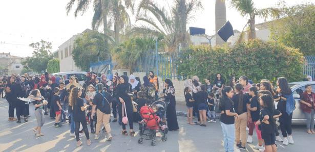 إختتام مسيرة إحياء الذّكرى الـ63 لمجزرة كفرقاسم تحت شعار: لن ننسى، لن نغفر، لن نسامح