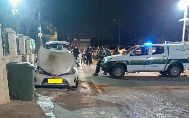اطلاق رصاص على منزل رئيس الجديدة - المكر سهيل ملحم وإضرام النار بسيارة العائلة