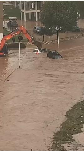 يوآف مينس للشمس: نهاريا لم تشهد أجواءً كهذه اذ تخلل السيول إخلاء منازل وأضرار ووفاة مواطن