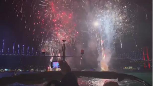 اسطنبول تحتفل بمناسبة العام الجديد 2020