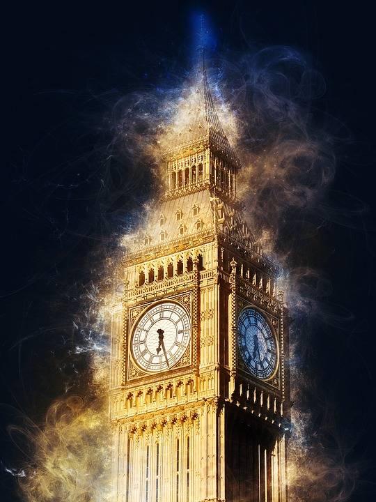 تبشيرًا ببداية عام 2020, ساعة بيج بين ستدق من جديد