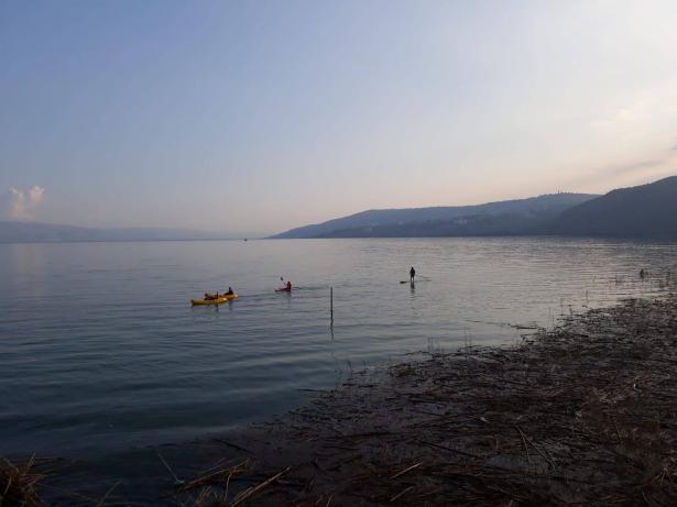 ارتفاع منسوب بحيرة طبريا خلال الأسبوعين الأخيرين 70 سم
