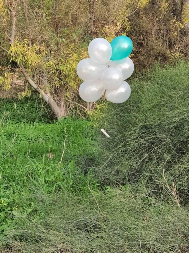 حماس توافق على وقف إطلاق البالونات الحارقة بطلب مصري