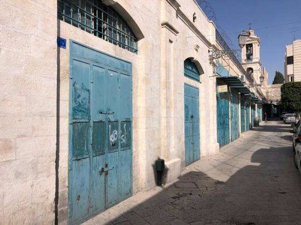 منع التنقل في بيت لحم، وبيت جالا، وبيت ساحور، ومطالبة الأهل الالتزام  في بيوتهم