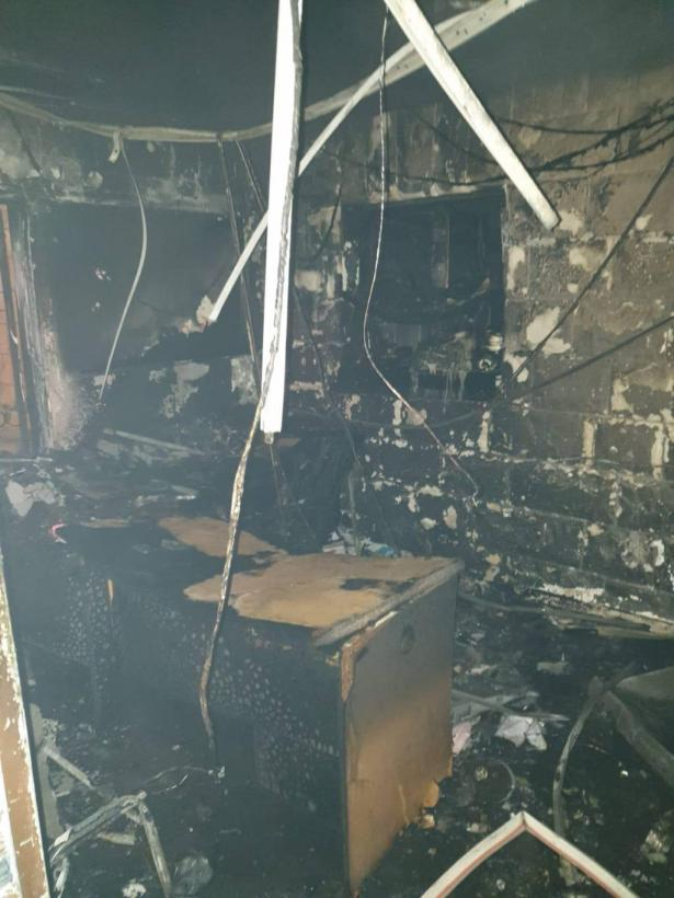 حريق في مبنى المجلس المحلي في كفرياسيف وتحقيق لمعرفة الأسباب