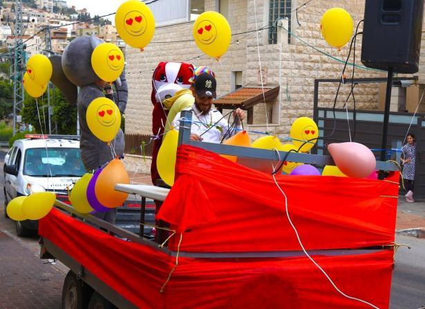 جمعية انبراء في الرينة: فعاليات لنشر البهجة في أحياء القرية في ظل الأزمة