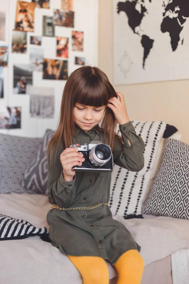 نصائح لتطوير مهارات الأطفال في التصوير داخل المنزل في فترة الحجر
