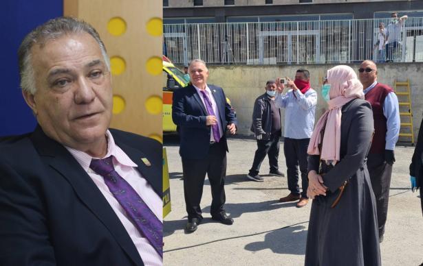 رئيس بلدية الناصرة السيد علي سلام يوجه رسالة لأهالي الناصرة عبر أثير اذاعة الشمس