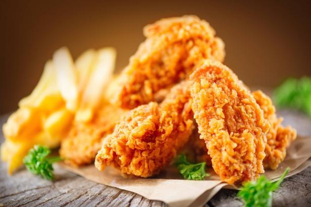 طريقة تحضير دجاج الكنتاكي من المنزل