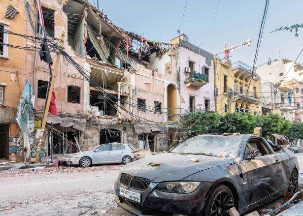 الخسائر الاقتصادية الناتجة عن الانفجار الهائل في لبنان